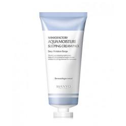 Aqua Moisture Sleeping Cream Pack - ночная увлажняющая крем-маска для лица