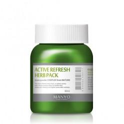 Active Refresh Herb Pack – очищающая травяная маска для лица
