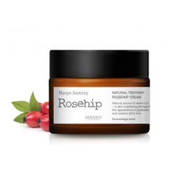 Natural Treatment Rosehip Cream Крем для лица с натуральным экстрактом шиповника