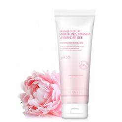 Moist Floral Feminine Wash off Gel - Очищающий цветочный гель для интимной гигиены