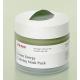 Green Tea Ice Cream Pack Успокаивающая маска для лица с экстрактом зеленого чая