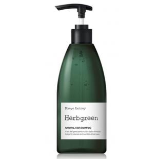 Natural Hair Shampoo Herbgreen Питательный Шампунь для Волос